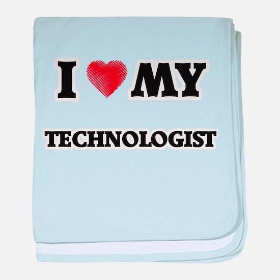 I love my Technologist baby blanket