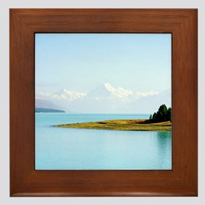 Southern Alps NZ Framed Tile