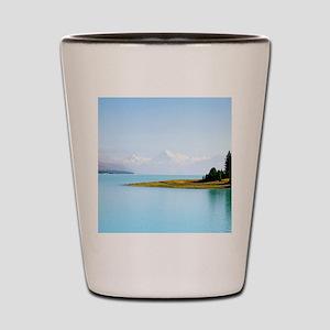 Southern Alps NZ Shot Glass
