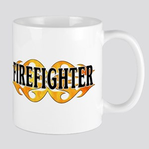 Firefighter Double Flames Mug