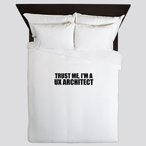 Trust Me, I'm A UX Architect Queen Duvet