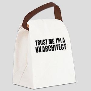 Trust Me, I'm A UX Architect Canvas Lunch Bag