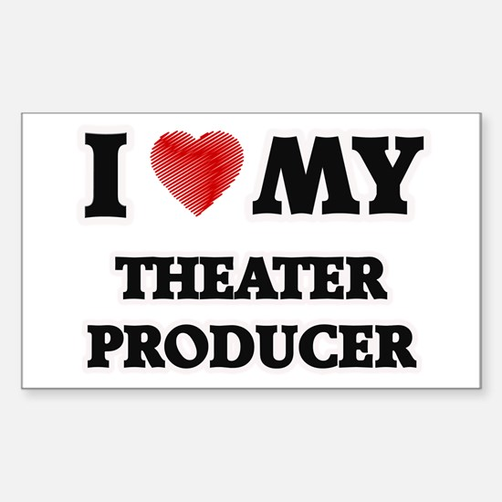 I love my Theater Producer Decal