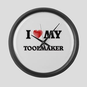 I love my Toolmaker Large Wall Clock