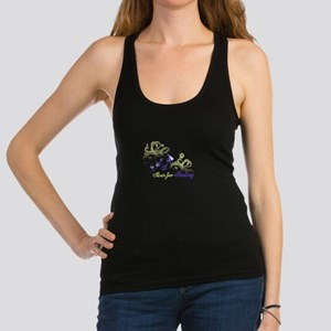 paws for healing Racerback Tank Top
