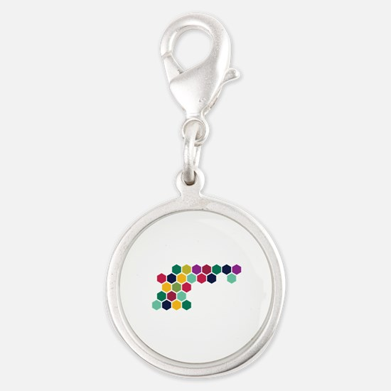 Colorful Honeycombs Charms