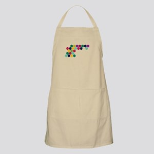 Colorful Honeycombs Apron
