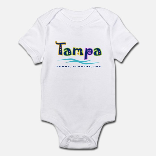 Tampa Tropical Type -  Infant Bodysuit