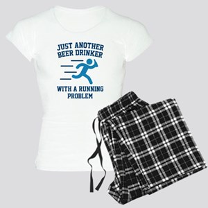 Beer Drinker Running Problem Women's Light Pajamas