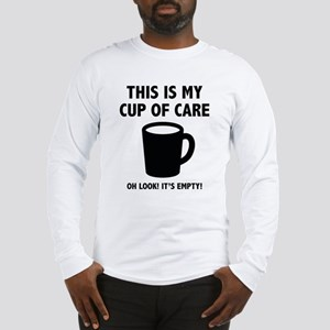 Cup Of Care Long Sleeve T-Shirt
