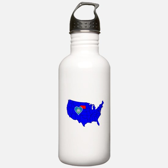 State of South Dakota Water Bottle