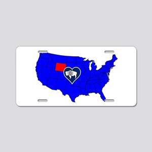 State of Wyoming Aluminum License Plate