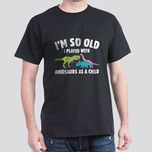 Played With Dinosaurs Dark T-Shirt