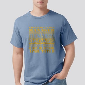 Construction Managr Because Miracle Worker T-Shirt