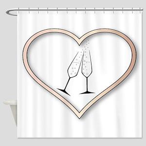 Love Celebration Shower Curtain