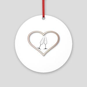 Love Celebration Round Ornament