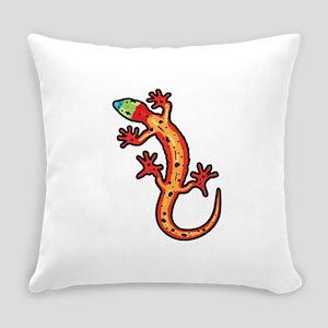 Gecko multicoloured Everyday Pillow
