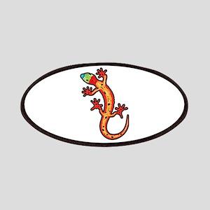 Gecko multicoloured Patch