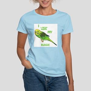 Green Budgie Women's T-Shirt