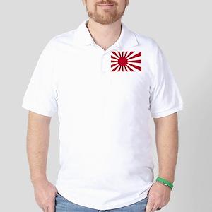 Japanese Flag Golf Shirt