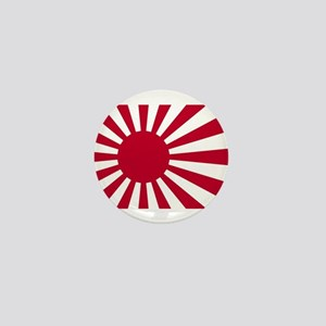 Japanese Flag Mini Button