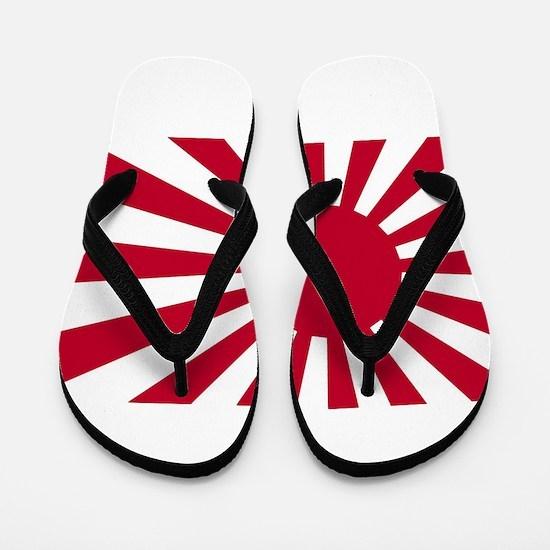 Japanese Flag Flip Flops