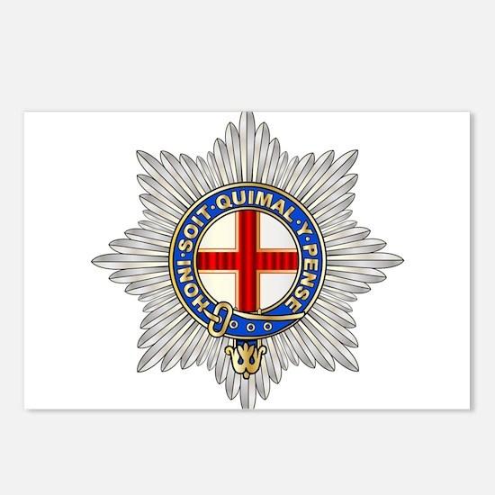 Coldstream Guards Emblem Postcards (Package of 8)