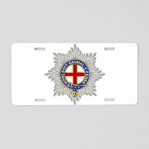 Coldstream Guards Emblem Aluminum License Plate