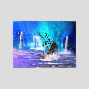 Shipwreck 5'x7'Area Rug
