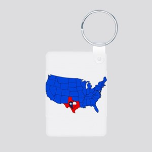 The State of Texas Keychains