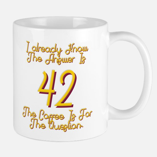 42 Mug Left Handed Mugs