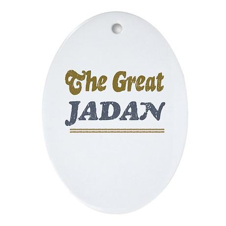 Jadan Oval Ornament