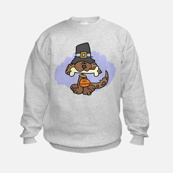 Thanksgiving Puppy Sweatshirt