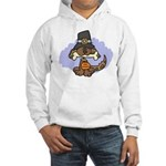 Thanksgiving Puppy Hooded Sweatshirt