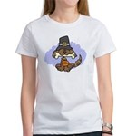 Thanksgiving Puppy Women's T-Shirt