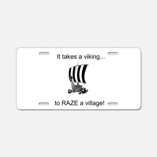 It takes a viking to raze a village! Aluminum Lice