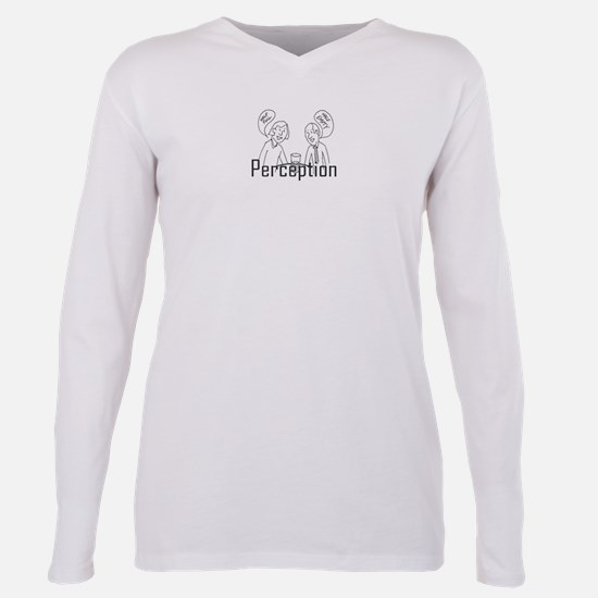 Perception Plus Size Long Sleeve Tee