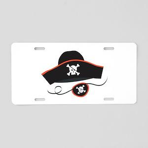 Pirate Hat Aluminum License Plate