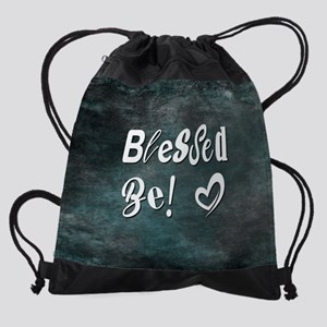 BLESSED BE! Drawstring Bag