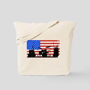 USA Rock Band Tote Bag