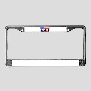 USA Rock Band License Plate Frame