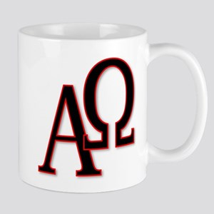 Alpha and Omega Mugs
