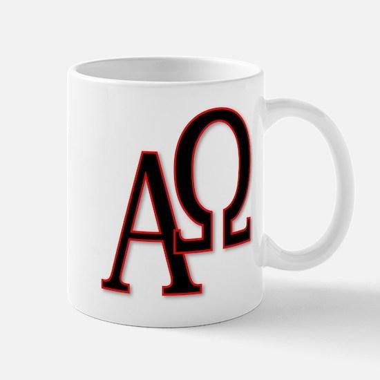 Alpha and Omega Mugs