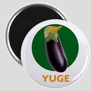 Yuge Trump Eggplant Magnets