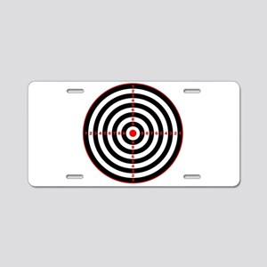 Target Aluminum License Plate