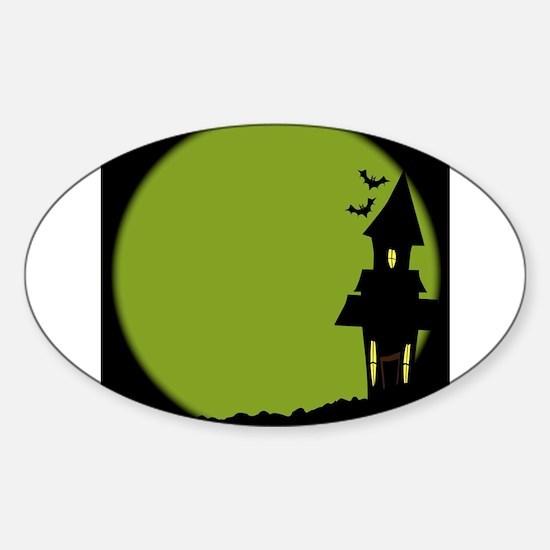 Halloween House Decal