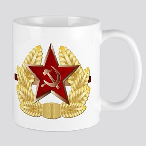 Soviet Cap Badge Mugs