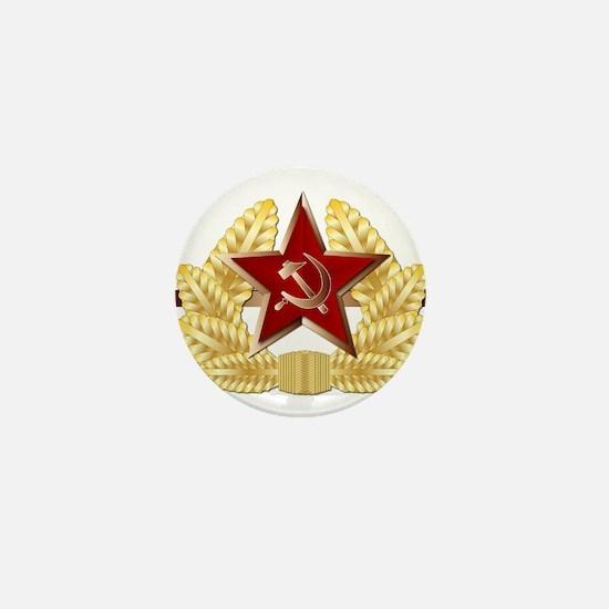 Soviet Cap Badge Mini Button