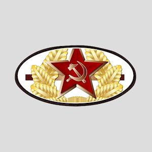 Soviet Cap Badge Patch