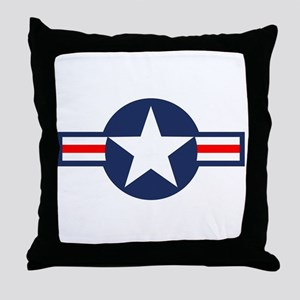 USAF Markings Throw Pillow